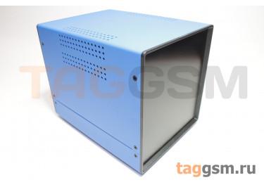 BDA 40006-A6(W195) Корпус стальной настольный синий 150x160x195мм