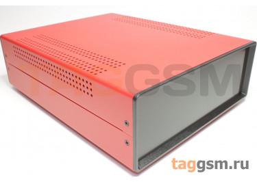 BDA 40007-A5(W275) Корпус стальной настольный красный 220x80x275мм