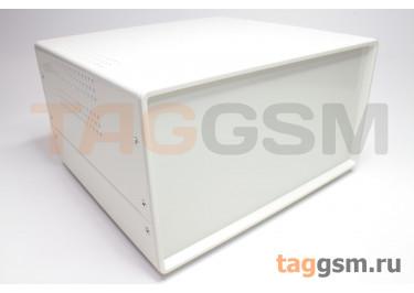 BDA 40008-A1(W195) Корпус стальной настольный белый 220x120x195мм