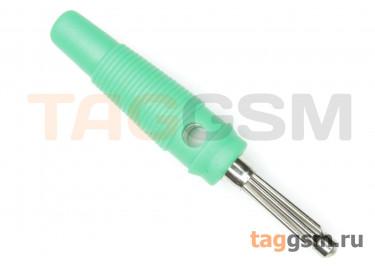 CX-06 / G Штекер на кабель зеленый под винт 4мм 30В 24А