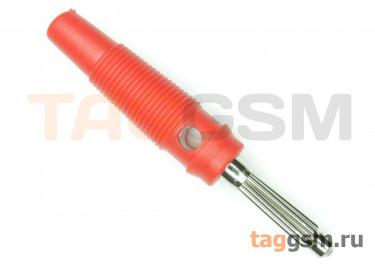 CX-06 / R Штекер на кабель красный под винт 4мм 30В 24А