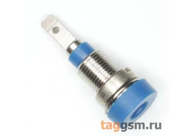 CZ-2086 / BL Гнездо на панель синее 2мм 30В 24А