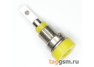CZ-2086 / Y Гнездо на панель желтое 2мм 30В 24А