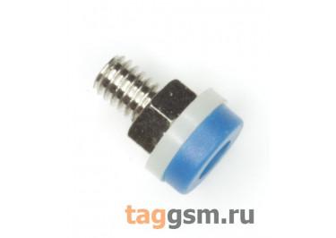 CZ-2091 / BL Гнездо на панель синее 2мм 30В 24А