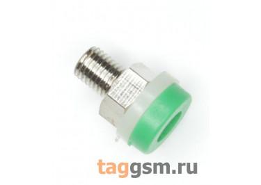 CZ-2091 / G Гнездо на панель зеленое 2мм 30В 24А