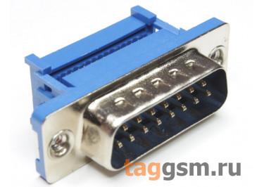 DS1036-15-MPU2PX-YT (DI-15M) Вилка на шлейф 15 конт.