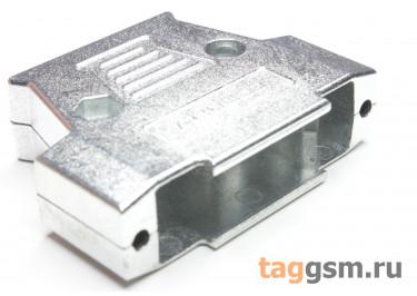 DS1047-25-M2L1-Z Корпус разъема DB-25 металл с удлиненными винтами