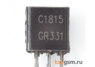 2SC1815 (TO-92) Биполярный транзистор NPN 50В 1,5A