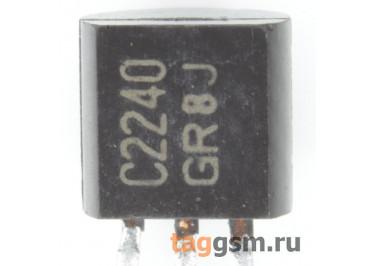 2SC2240-GR (TO-92) Биполярный транзистор NPN 120В 0,1А