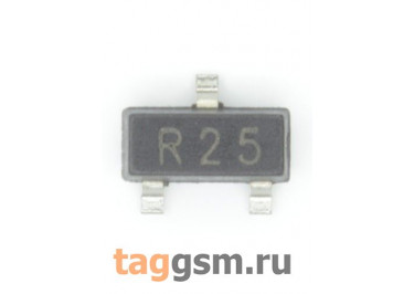 2SC3356 (SOT-23) Биполярный транзистор NPN 12В 0,1А 1ГГц