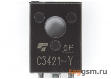 2SC3421 (TO-126) Биполярный транзистор NPN 120В 1А