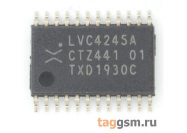 74LVC4245APW (TSSOP-24) Шинный формирователь уровня 8-бит