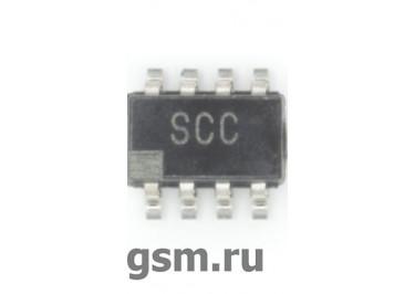 ADG619BRTZ (SOT-23-8) Аналоговый переключатель SPDT