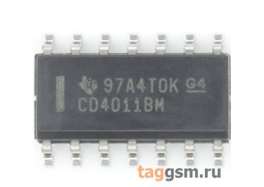 CD4011BM96 (SO-14) Логический элемент 2И-НЕ