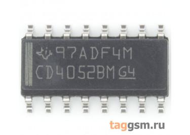 CD4052BM96 (SO-16) Аналоговый мультиплексор