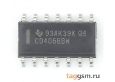 CD4066BM (SO-14) Коммутатор