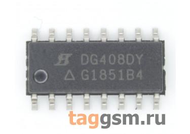 DG408DY-E3 ( SO-16) Аналоговый мультиплексор