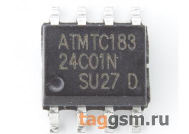 24C01 (SO-8) Энергонезависимая память EEPROM 1 Кбит