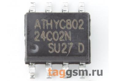 24C02 (SO-8) Энергонезависимая память EEPROM 2 Кбит