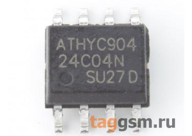 24C04 (SO-8) Энергонезависимая память EEPROM 4 Кбит