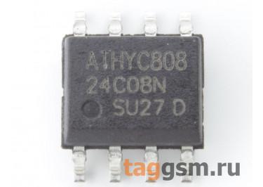 24C08 (SO-8) Энергонезависимая память EEPROM 8 Кбит