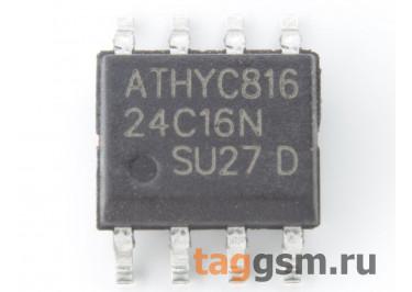 24C16 (SO-8) Энергонезависимая память EEPROM 16 Кбит