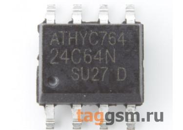 24C64 (SO-8) Энергонезависимая память EEPROM 64 Кбит