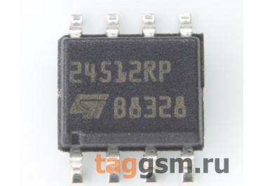 M24512-RMN6TP (SO-8) EEPROM, 512Kbit, I2C