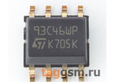 M93C46-WMN6TP (SO-8) EEPROM, 1Kbit, Microwire