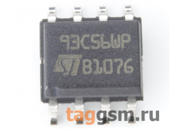 M93C56-WMN6TP (SO-8) EEPROM, 2Kbit, Microwire