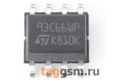 M93C66-WMN6TP (SO-8) EEPROM, 4Kbit, Microwire