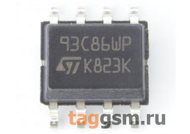 M93C86-WMN6TP (SO-8) EEPROM, 16Kbit, Microwire