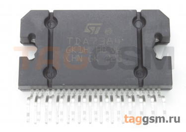 E-TDA7384A (Flexiwatt-25) УНЧ 4х42Вт