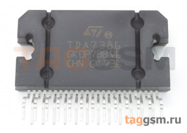 E-TDA7386 (Flexiwatt-25) УНЧ 4x49Вт