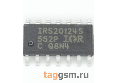 IRS20124S (SO-14) Драйвер УНЧ D-класса