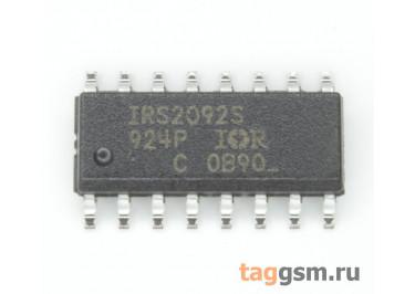 IRS2092S (SO-16) Драйвер УНЧ D-класса
