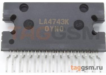 LA4743K (HZIP-25) УНЧ 4х45Вт