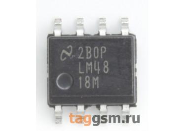 LM4818MX / NOPB (SO-8) УНЧ 0,35Вт