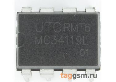 MC34119L-D08 (DIP-8) УНЧ 250мВт