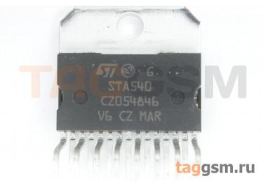 STA540 (Multiwatt-15) УНЧ 4х13Вт