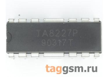TA8227P (DIP-12) УНЧ 2х3Вт