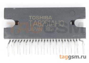 TA8251AH (HZIP-25 ) УНЧ 4х30Вт