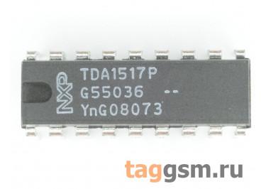 TDA1517P / N3 (DIP-18) УНЧ 2x6Вт