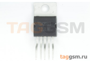 TDA2003 (TO-220-5) УНЧ 10Вт