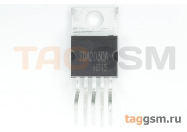TDA2030AV (TO-220-5) УНЧ 18Вт