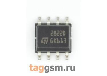 TDA2822D (SO-8) УНЧ 2x0,5 / 1Вт