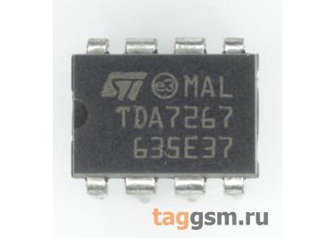 TDA7267 (DIP-8) УНЧ 3Вт