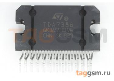 TDA7388 (Flexiwatt-25) Четырёхканальный усилитель низкой частоты 45Вт
