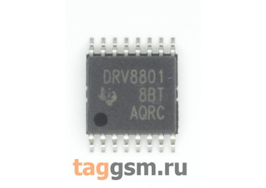 DRV8801PWPR (HTSSOP-16) Драйвер электродвигателя мостовой