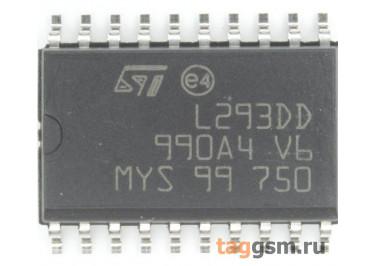 L293DD (SO-20) Драйвер электродвигателя